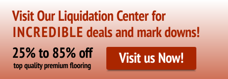 Visit our Liquidation Center for INCREDIBLE deals and mark downs!